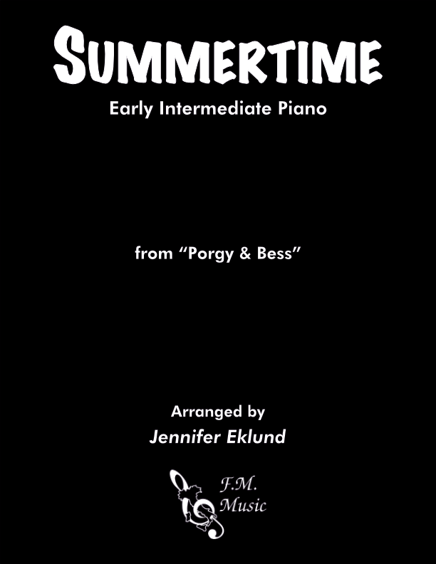 Summertime (Early Intermediate Piano)