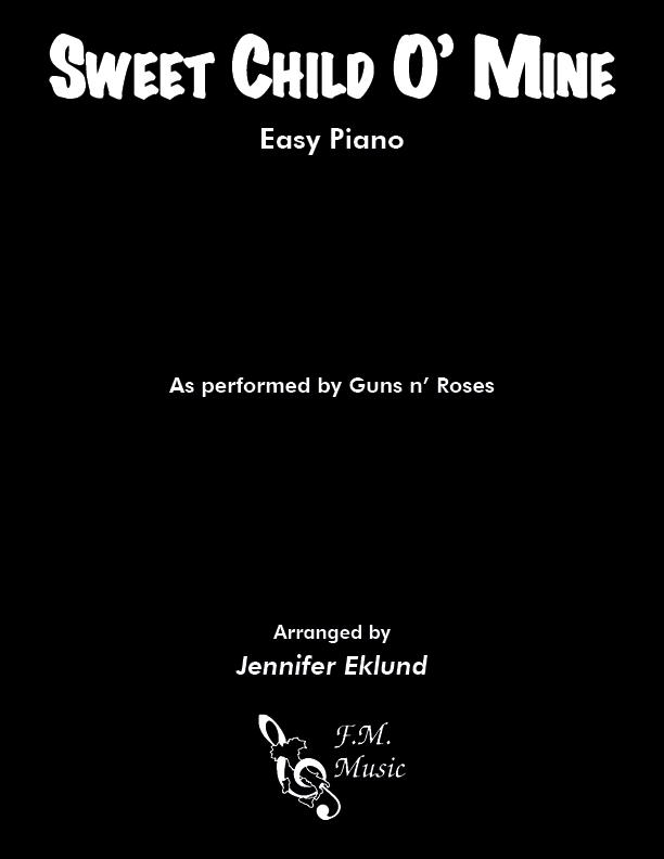 Sweet Child O' Mine (Easy Piano: Full Version)