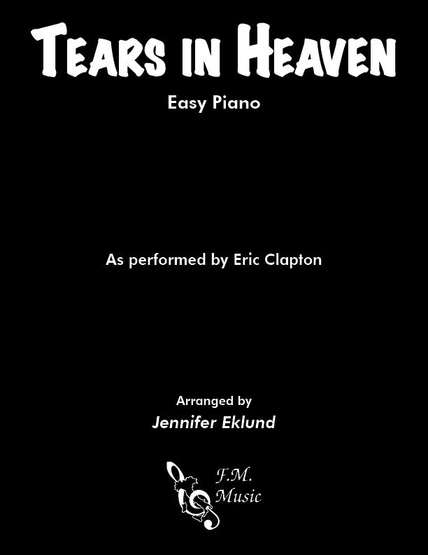 Tears In Heaven (Easy Piano)