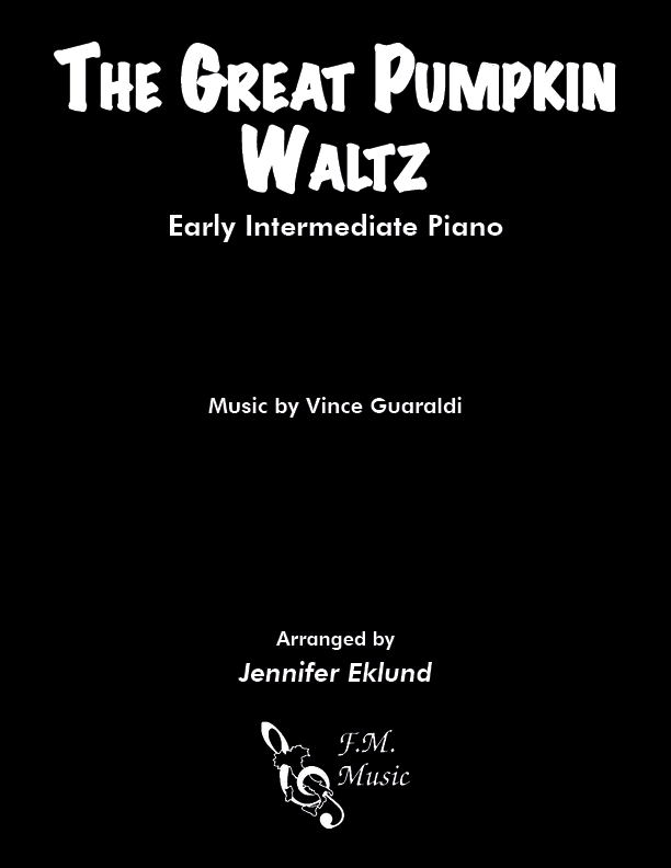 The Great Pumpkin Waltz (Early Intermediate Piano)