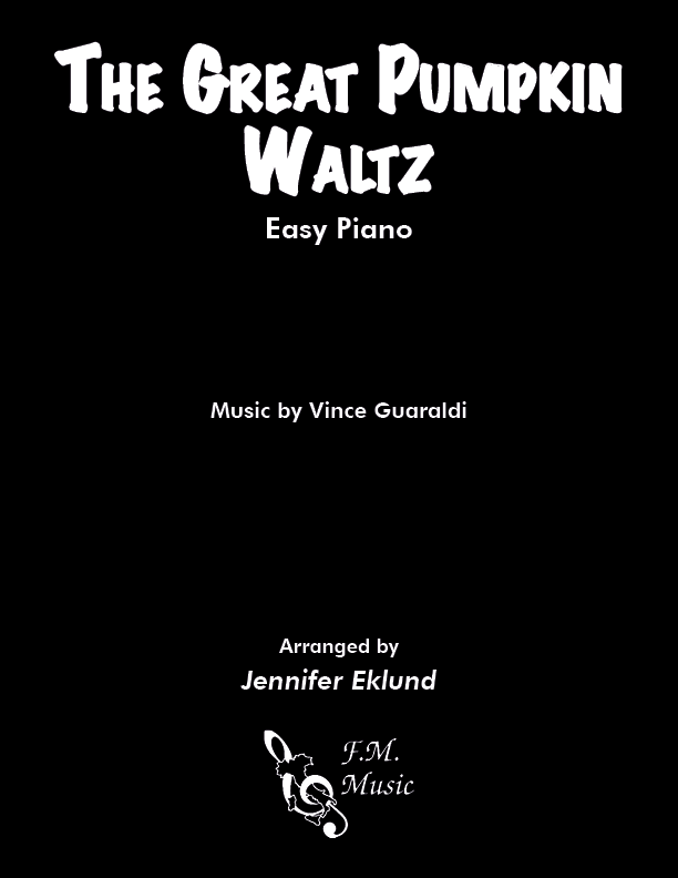The Great Pumpkin Waltz (Easy Piano)