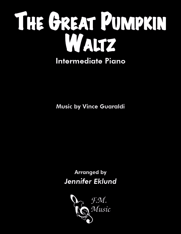 The Great Pumpkin Waltz (Intermediate Piano)