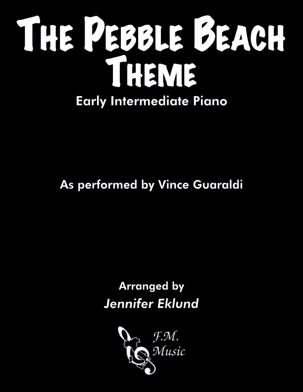 The Pebble Beach Theme (Early Intermediate Piano)