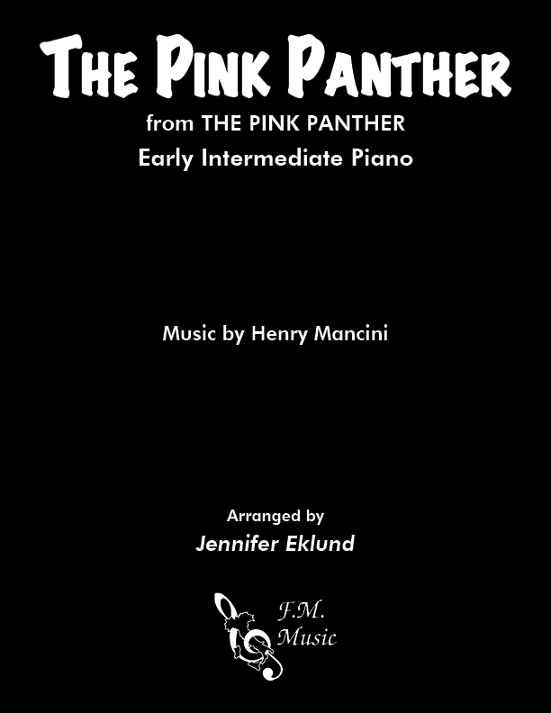 The Pink Panther Theme (Easy Piano)
