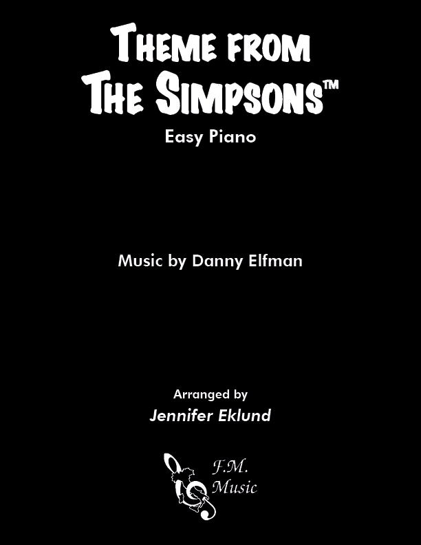 The Simpsons Theme (for Late Beginners)
