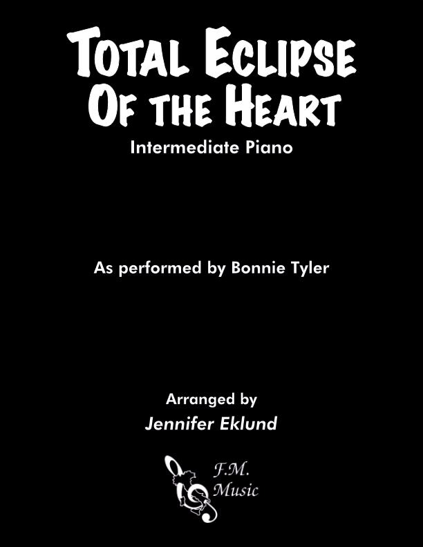 Total Eclipse Of The Heart (Intermediate Piano)
