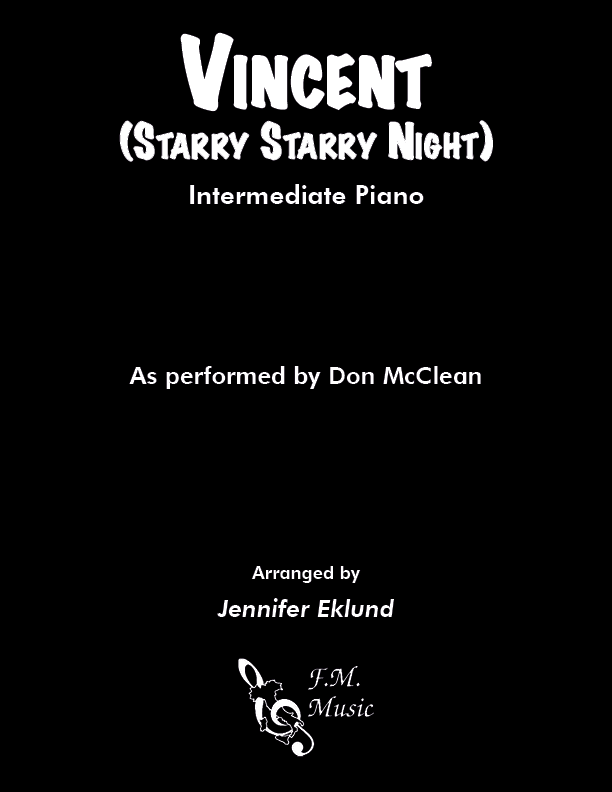 Vincent (Starry Starry Night) (Intermediate Piano)