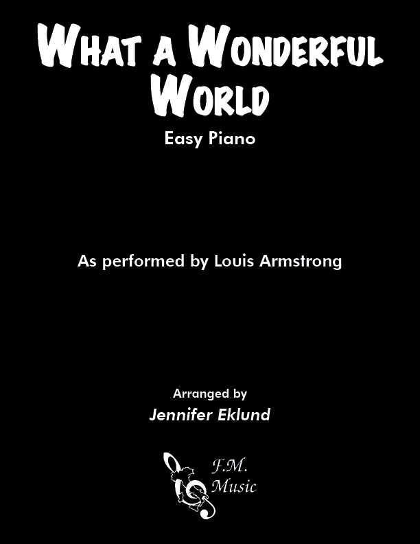 What A Wonderful World (Easy Piano)