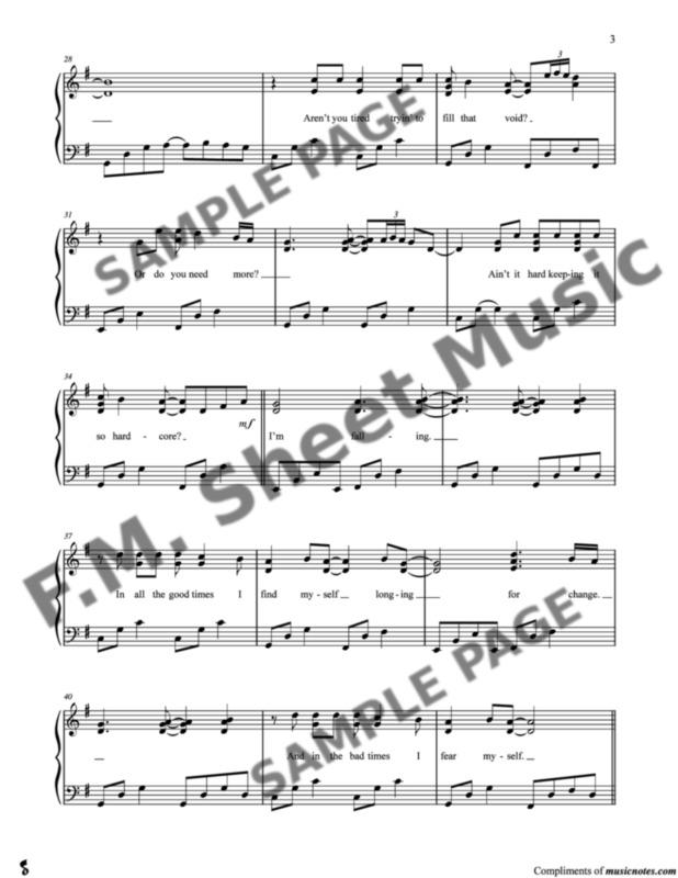 Shallow Piano Notes