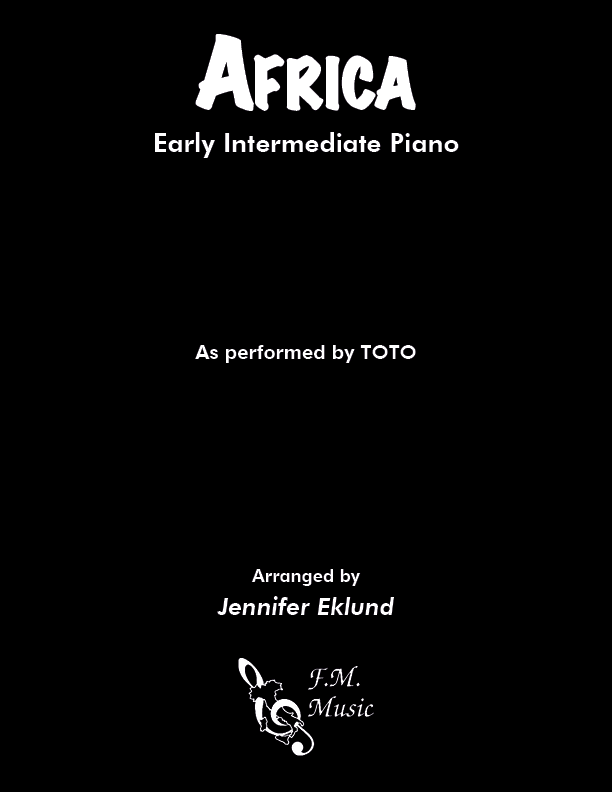 Africa (Early Intermediate Piano)