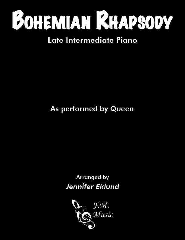 Bohemian Rhapsody (Late Intermediate Piano)