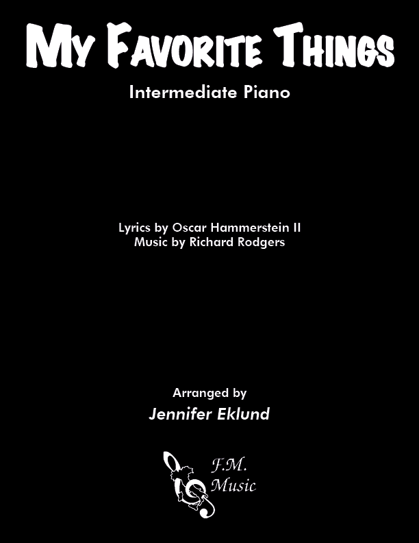 My Favorite Things (Intermediate Piano)