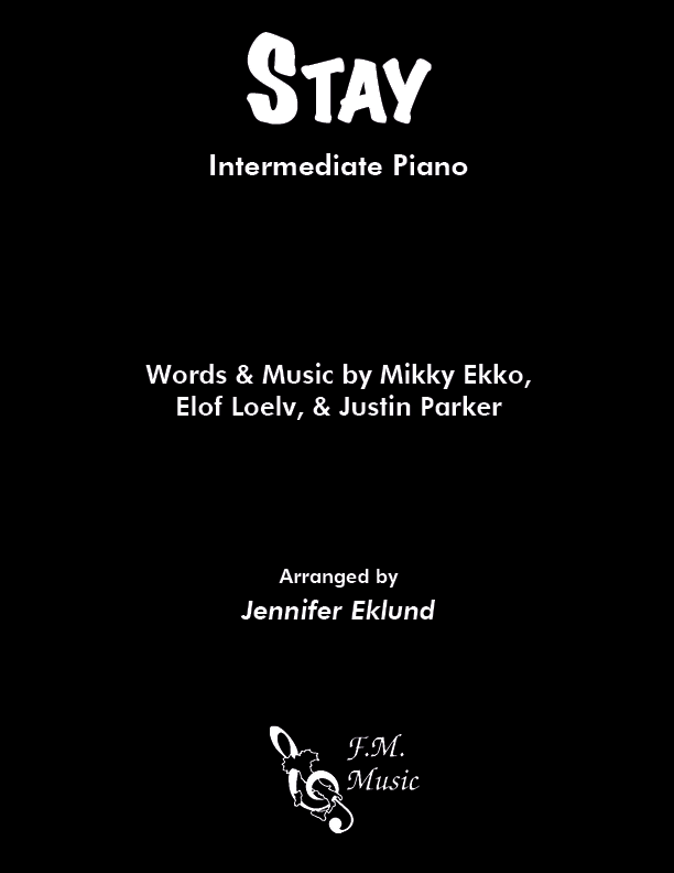 Stay (Intermediate Piano)
