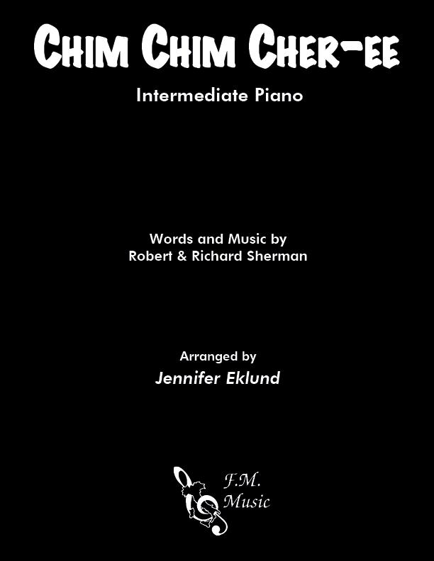 Chim Chim Cher-ee (Intermediate Piano)
