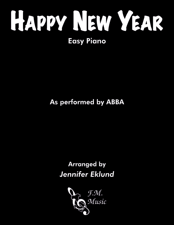 Happy New Year (Easy Piano)