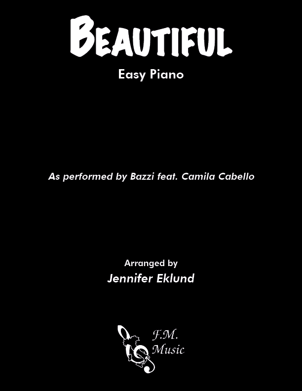 Beautiful (Easy Piano)