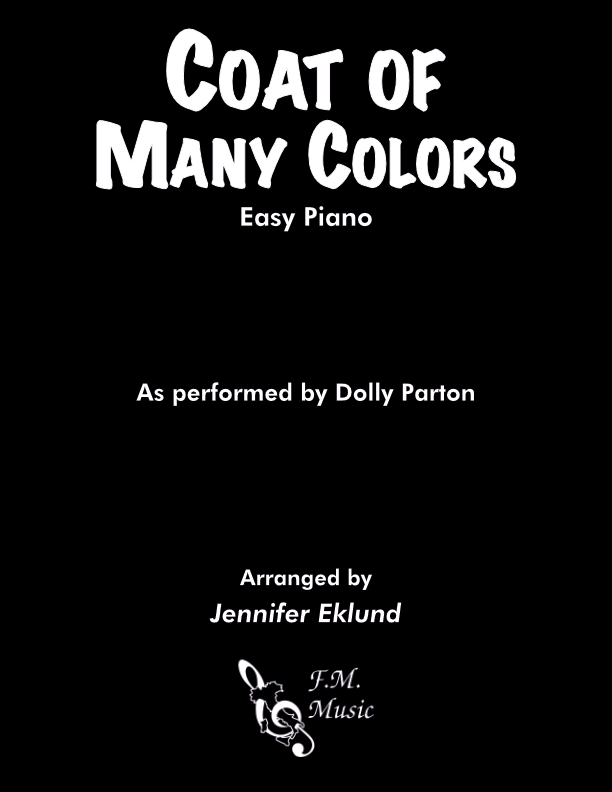 Coat of Many Colors (Easy Piano)