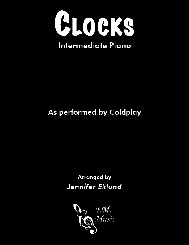 Clocks (Intermediate Piano)