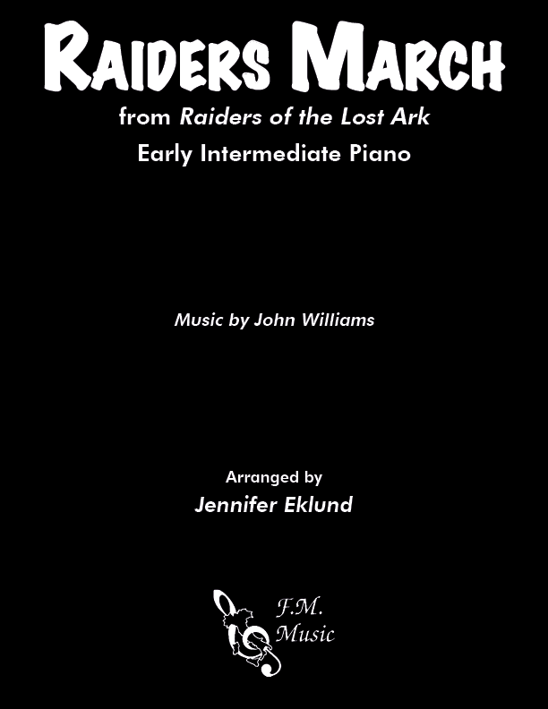 Raiders March (Early Intermediate Piano)