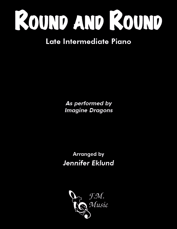 Round and Round (Late Intermediate Piano)
