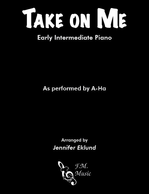 Take On Me (Early Intermediate Piano)