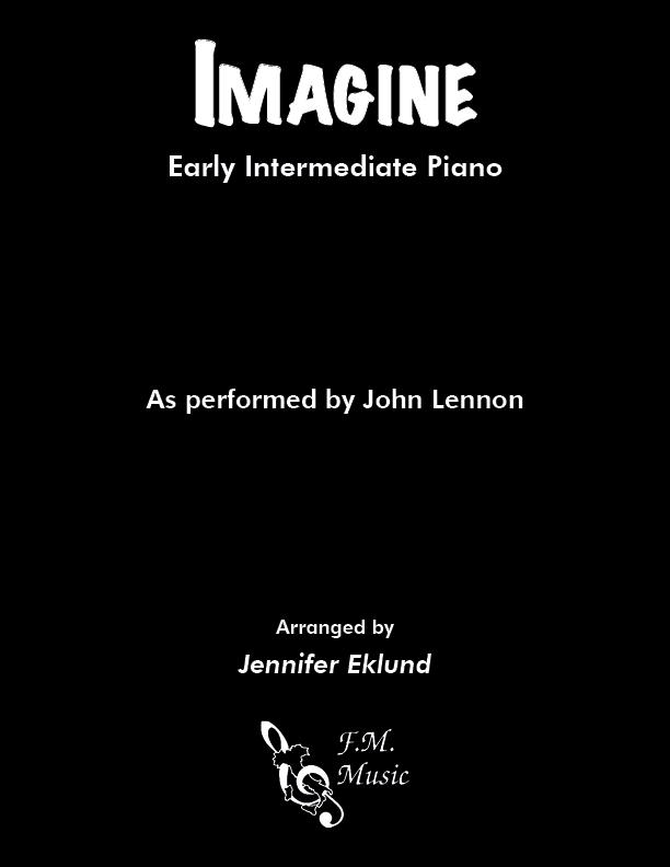 Imagine (Early Intermediate Piano)
