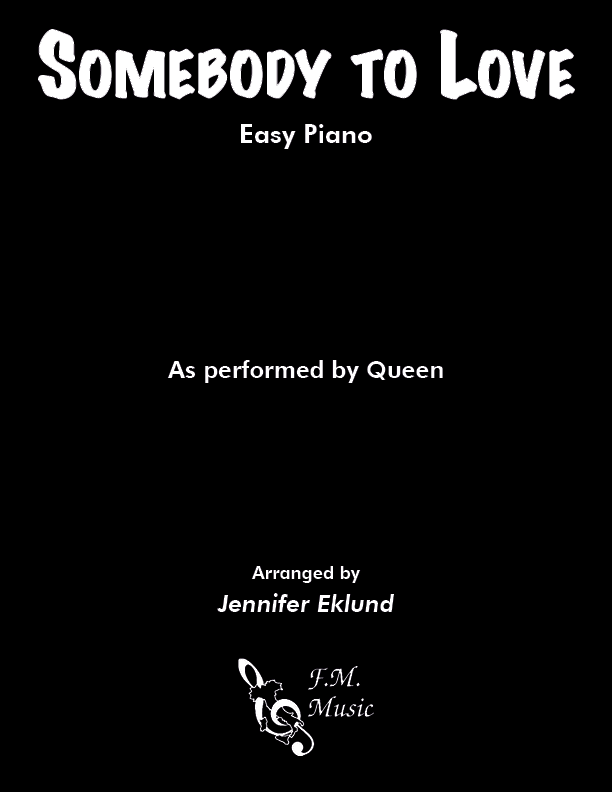Somebody to Love (Easy Piano)