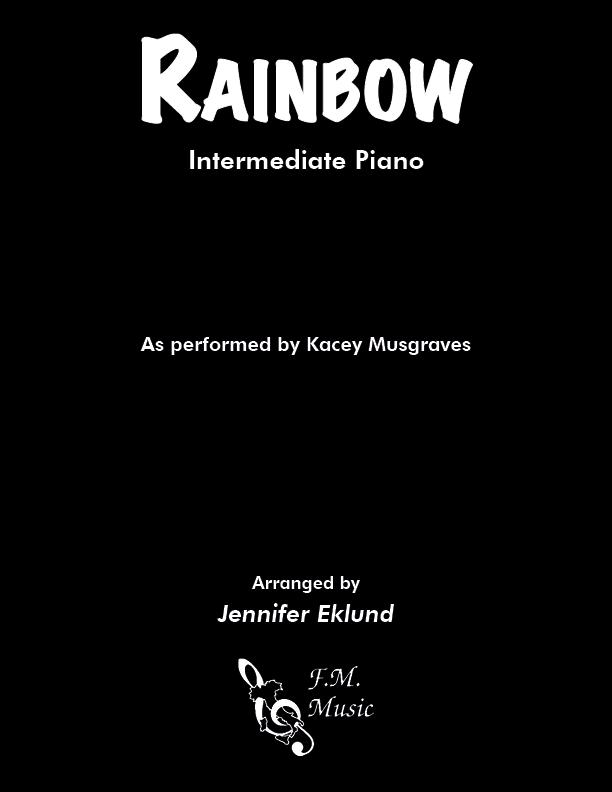 Rainbow (Intermediate Piano)