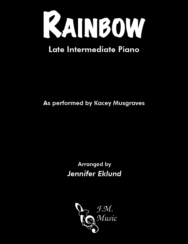 Rainbow (Late Intermediate Piano)