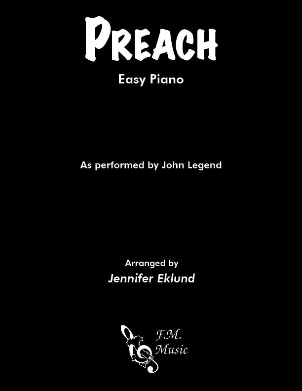 Preach (Easy Piano)