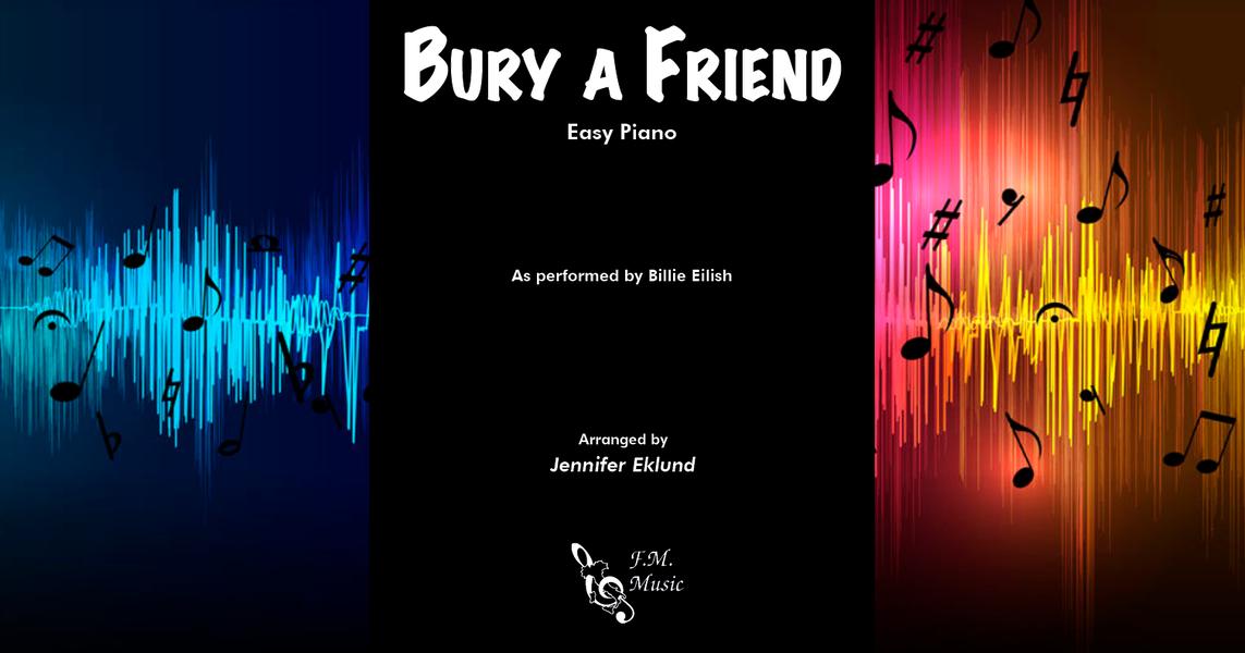 Erika Roblox Piano Sheet Billie Eilish Roblox Piano Bury A Friend
