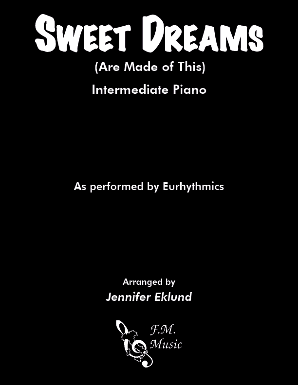 Sweet Dreams (Are Made of This) (Intermediate Piano)
