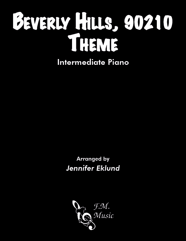 Beverly Hills 90210 Theme (Intermediate Piano)