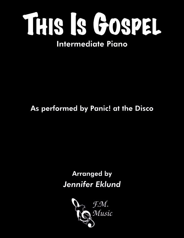 This Is Gospel (Intermediate Piano)