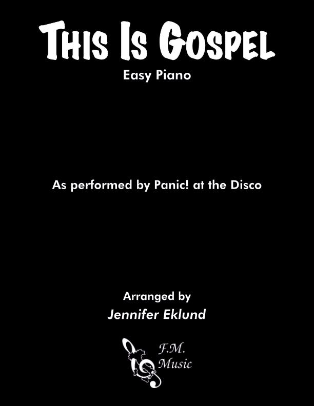 This Is Gospel (Easy Piano)
