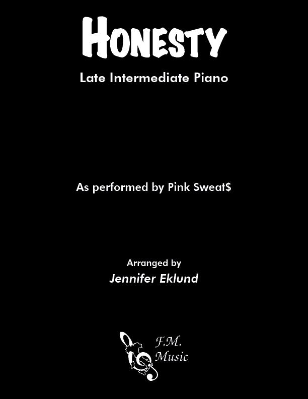 Honesty (Late Intermediate Piano)