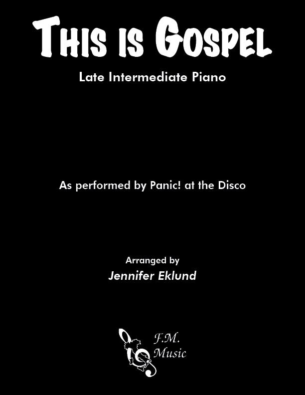 This Is Gospel (Late Intermediate Piano)