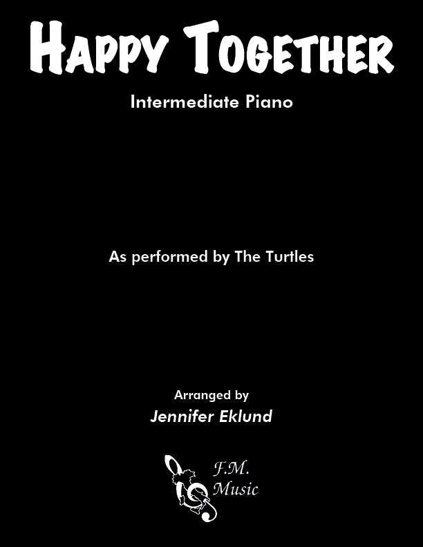 Happy Together (Intermediate Piano)
