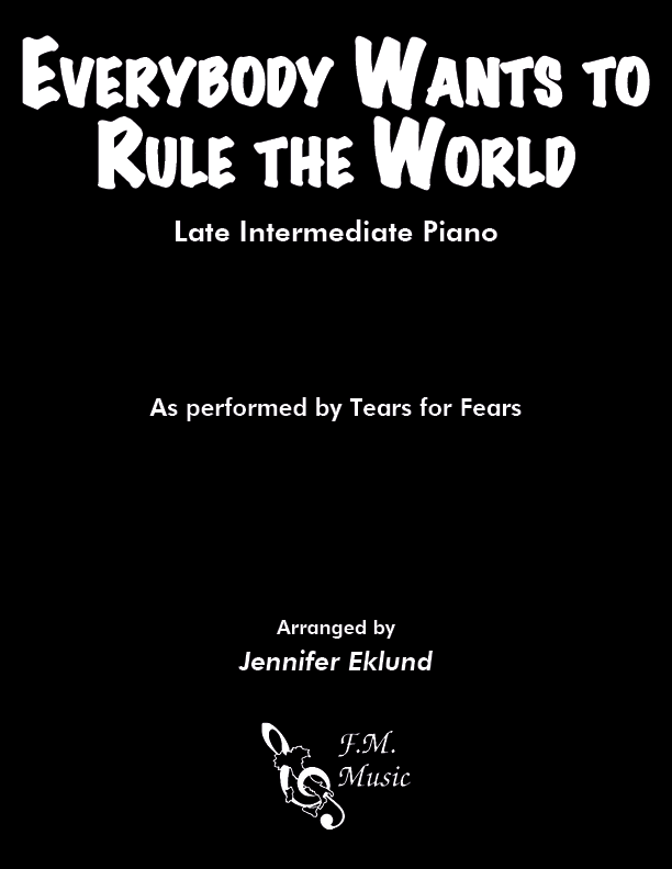 Everybody Wants to Rule the World (Late Intermediate Piano)