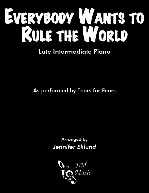 Everybody Wants to Rule the World (Late Intermediate Piano)