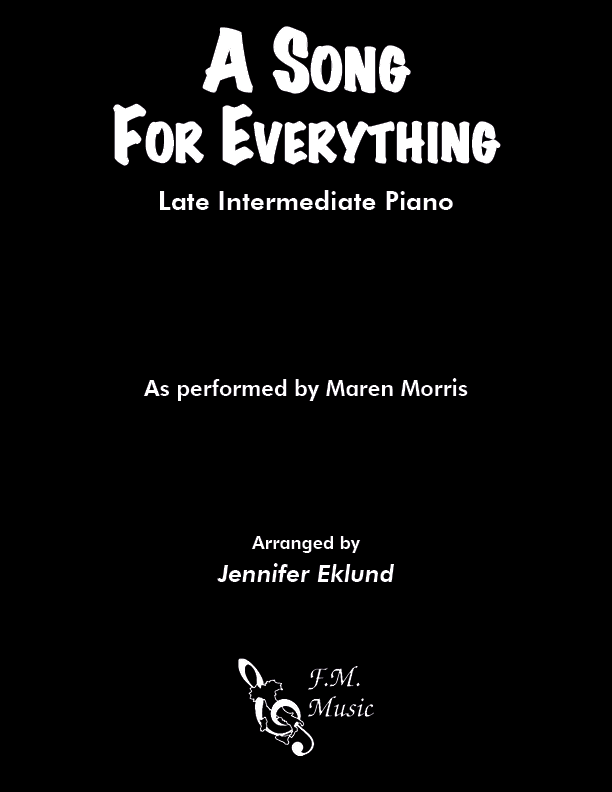 A Song for Everything (Late Intermediate)