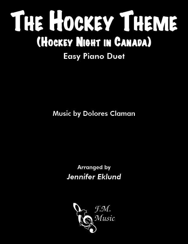 The Hockey Theme (Hockey Night in Canada) (Easy Duet)