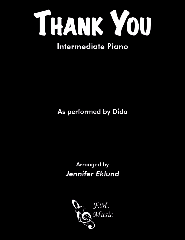 Thank You (Intermediate Piano)