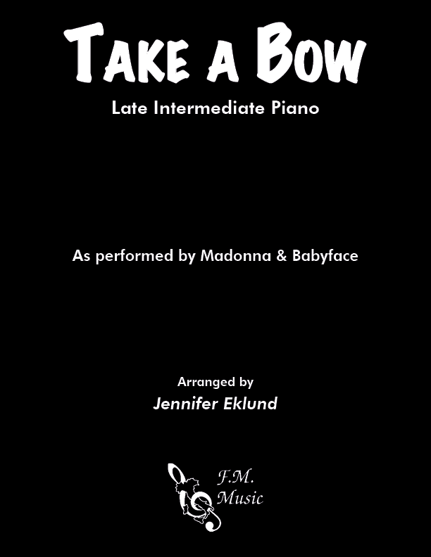 Take a Bow (Late Intermediate Piano)
