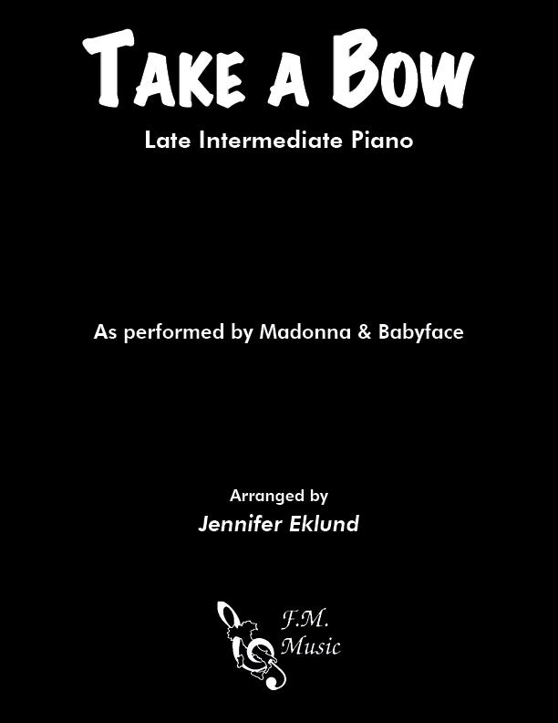 Take a Bow (Late Intermediate Piano)