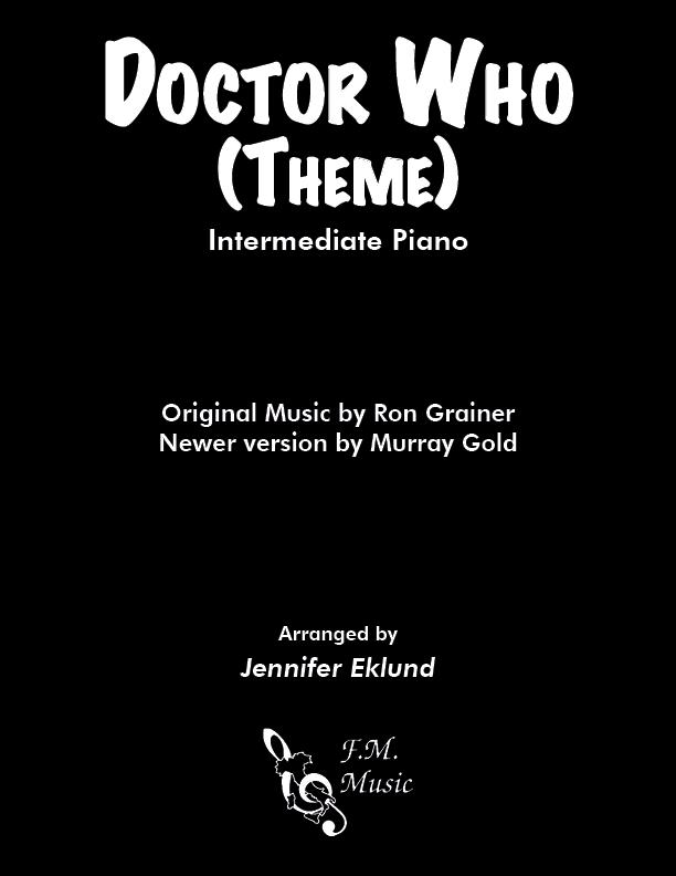 Doctor Who Theme (Intermediate Piano)