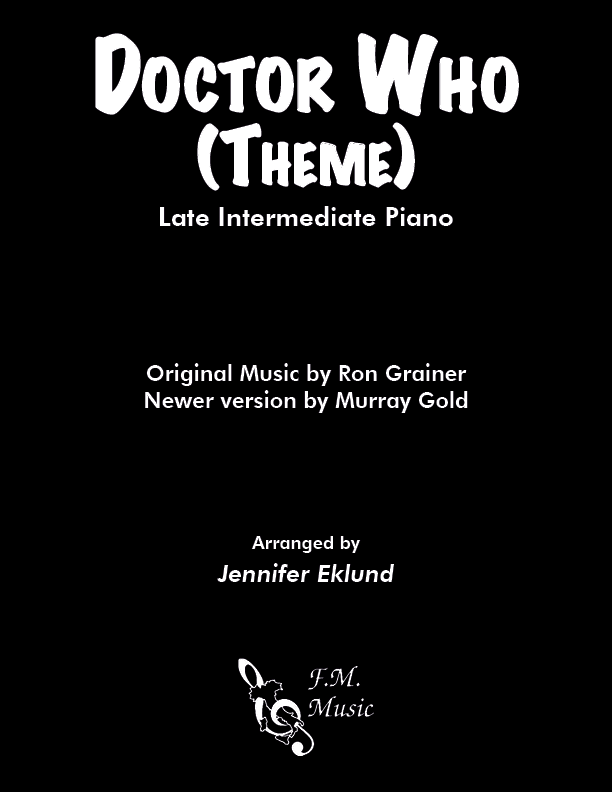 Doctor Who Theme (Late Intermediate Piano)