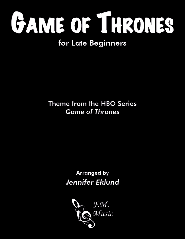 Game of Thrones (for Late Beginners)