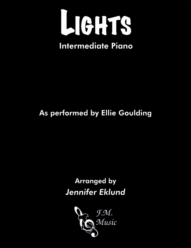 Lights (Intermediate Piano)