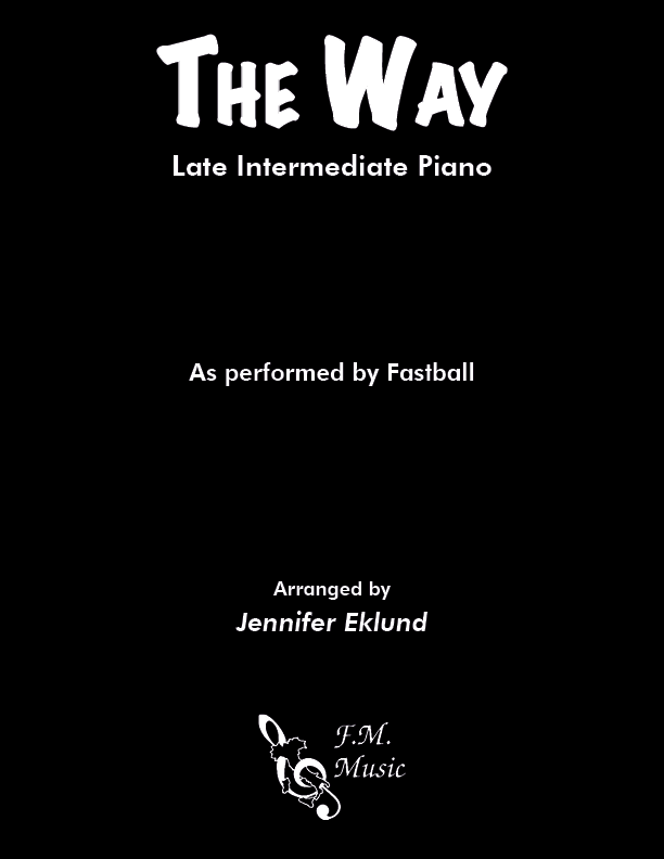 The Way (Late Intermediate Piano)